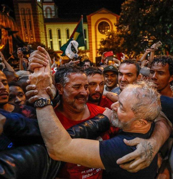 Lula em Chapecó