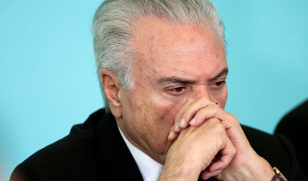 Presidente Michel Temer durante reunião do Conselho de Desenvolvimento Econômico e Social em Brasília 21/03/2018 REUTERS/Ueslei Marcelino