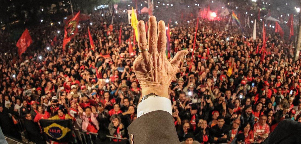 10 05 2017 Curitiba PR Brasil o ex presidente Luiz Inacio Lula da Silva durante Ato jornada pela democracia em Curitiba Fotos Ricardo Stuckert