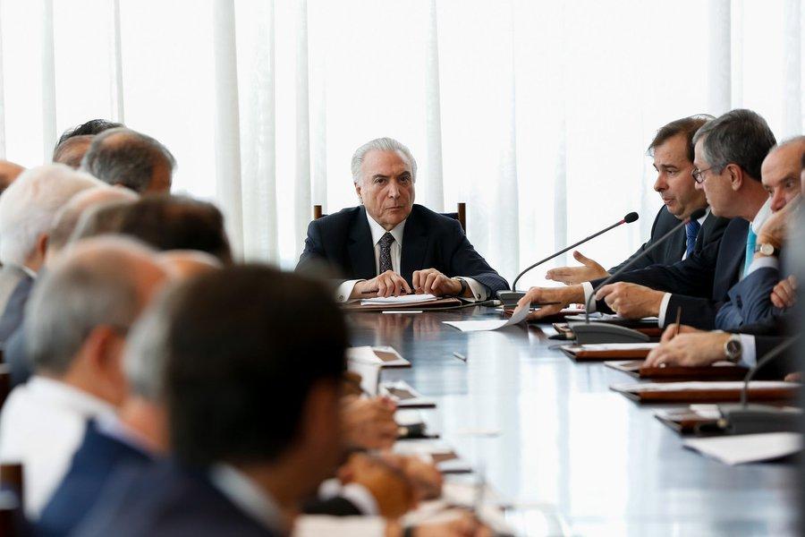 (Brasília - DF, 19/02/2018) Reunião do Conselho da República e do Conselho de Defesa Nacional. Fotos: Marcos Corrêa/PR