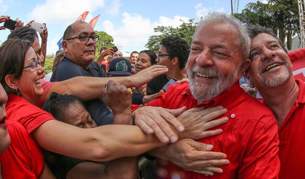 Natal- RN- Brasil- 22/09/2016- Ex-presidente Lula, durante evento político em Natal. Foto: Ricardo Stuckert/ Instituto Lula
