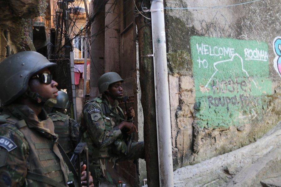 Militares na Rocinha