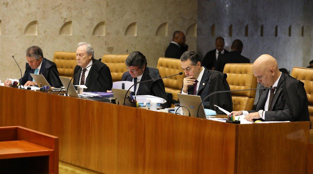 Brasília- DF. 04-04-2018- Sessão do STF que vai discutir e votar o HC do ex-presidente Lula. Foto Lula Marques/Liderança do PT na câmara.
