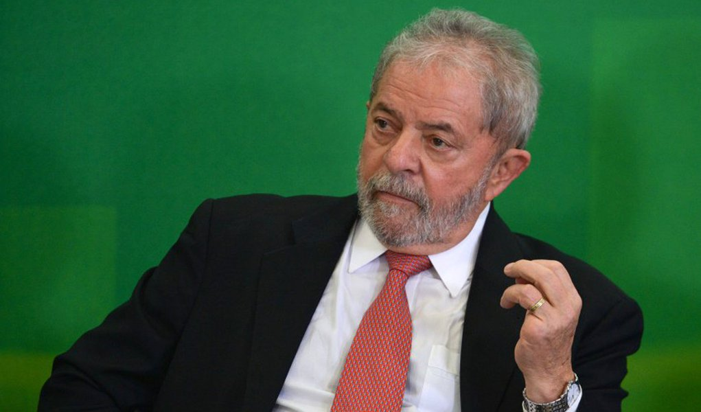 Bras�lia - O novo ministro da Casa Civil, Luiz In�cio Lula da Silva, durante cerim�nia de posse (Jos� Cruz/Ag�ncia Brasil)