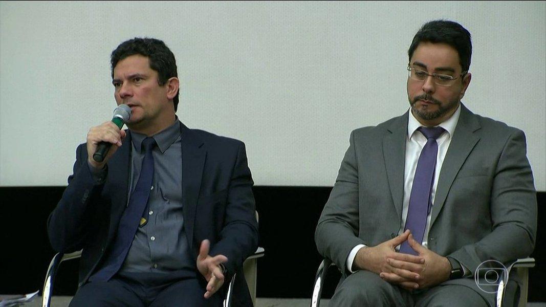 Sérgio Moro e Marcelo Bretas