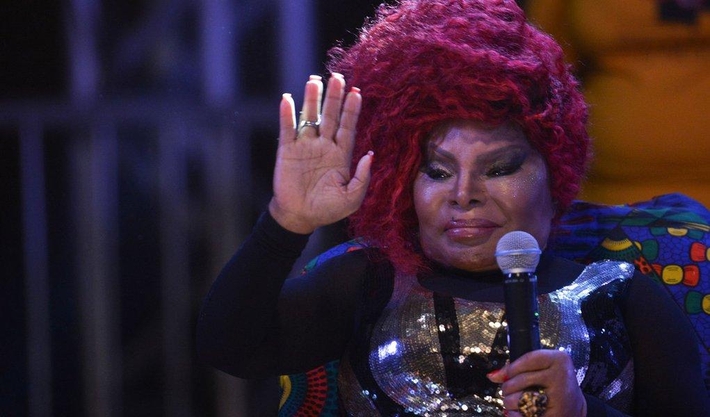 A cantora Elza Soares, faz show na abertura da oitava edi��o do Festival Latinidades, maior festival de mulheres negras da Am�rica Latina (Marcello Casal Jr/Ag�ncia Brasil)