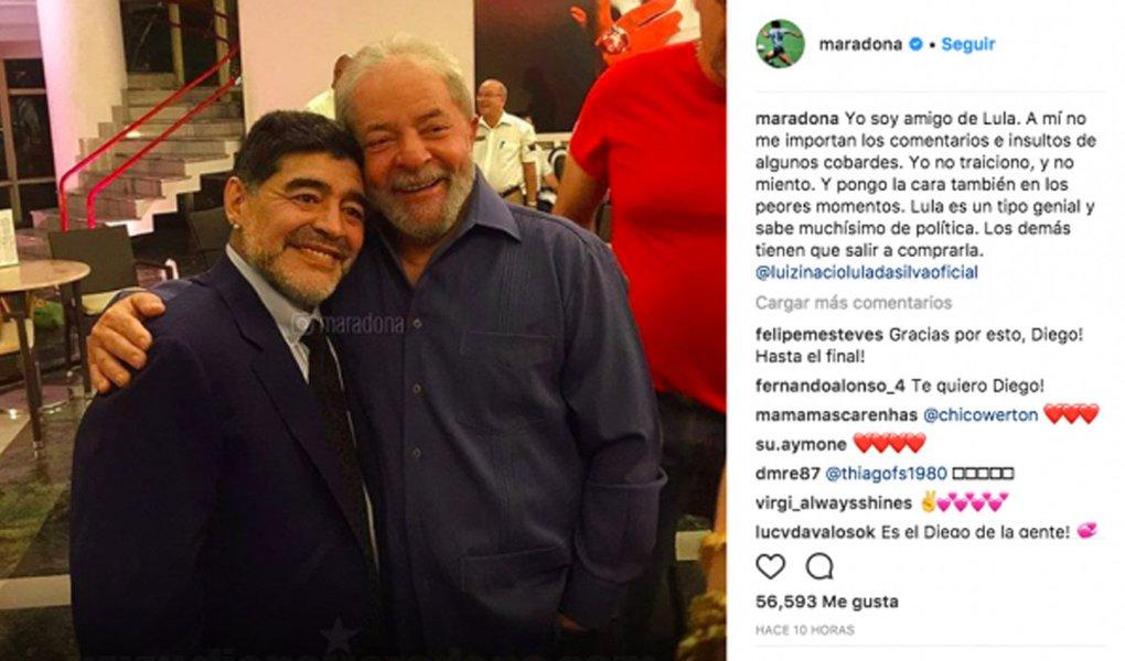 Maradona e Lula