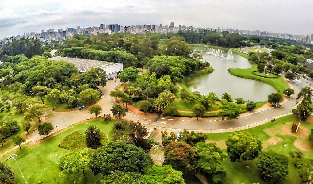 21-01-2015 - S�o Paulo - Parque do Ibirapuera. Foto: Rafael Neddermeyer/ Fotos P�blicas