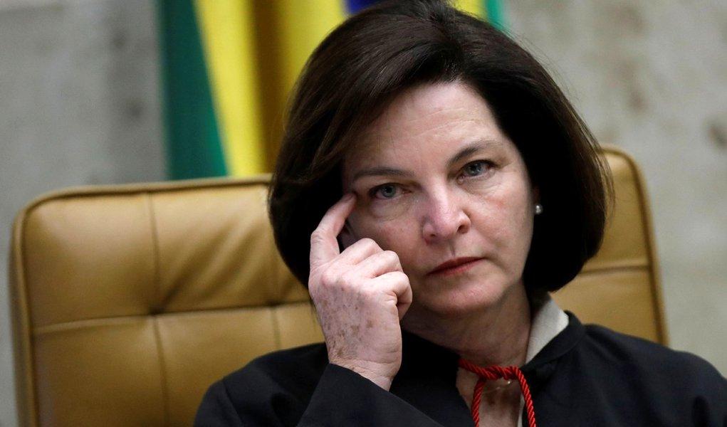 Raquel Dodge, procuradora-geral da República, durante sessão do Supremo Tribunal Federal em Brasília, no Brasil 20/09/2017 REUTERS/Ueslei Marcelino