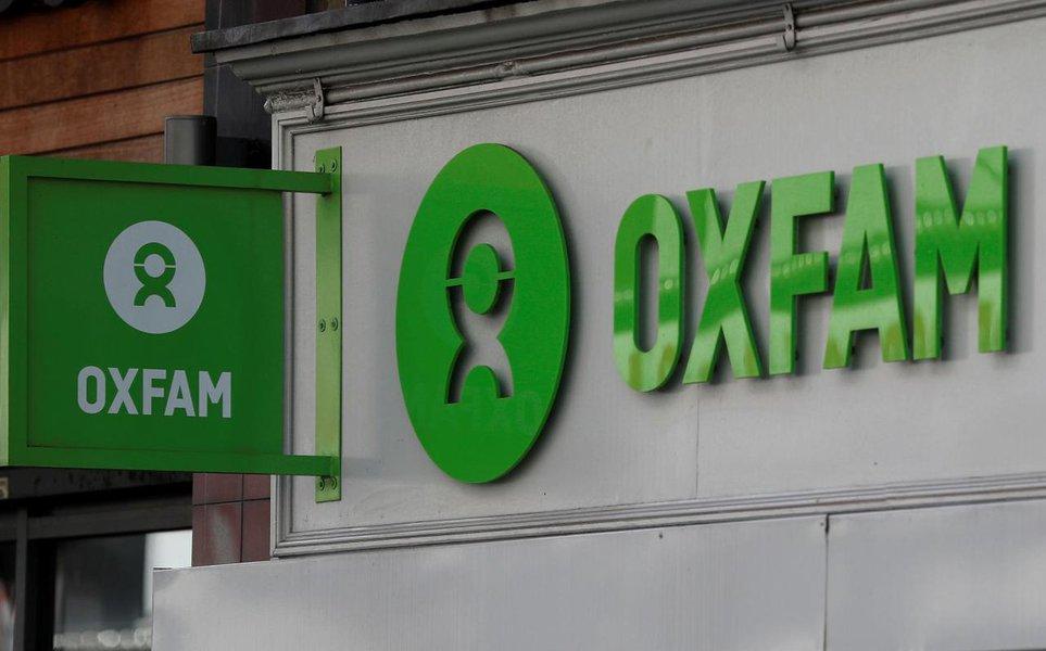 An Oxfam shop is seen, in London, Britain, February 11, 2018. REUTERS/Peter Nicholls