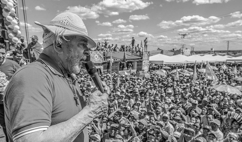 29/08/2017- Lula recebe homenagem de vaqueiros de Morada Nova (CE) Foto Ricardo Stuckert
