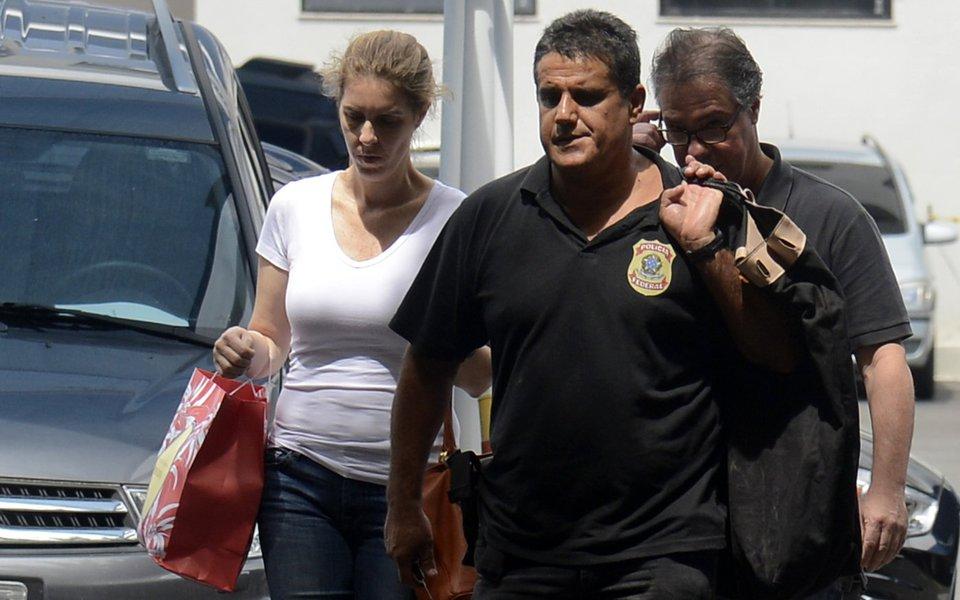 Rio de Janeiro - Luis Carlos Velloso, subsecretário estadual de Turismo, é preso preventinamente por suspeita de corrupção na construção da Linha 4 do metrô do Rio de Janeiro. (Tânia Rêgo/Agência Brasil)