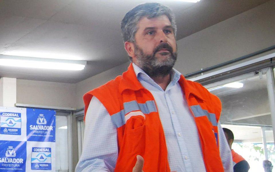 Salvador- Preso em operação da PF Gustavo Ferraz é diretor-geral do Defesa Civil de Salvador Foto: SECOM