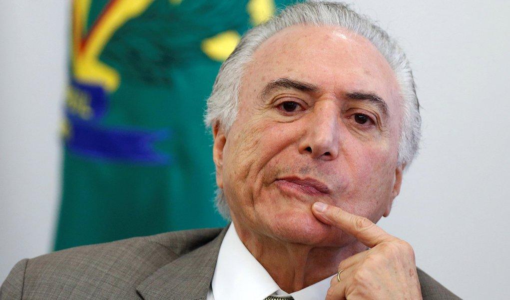 O presidente brasileiro Michel Temer durante evento no Palácio do Planalto, em Brasília 20/12/2017 REUTERS/Adriano Machado