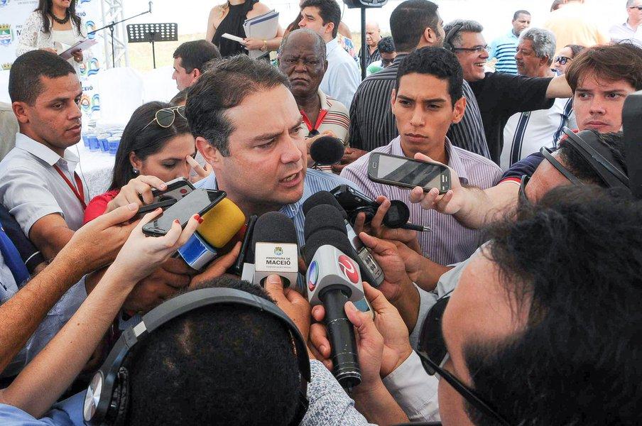 Renan Filho - Governador Foto:Marco Antônio/Secom Maceió