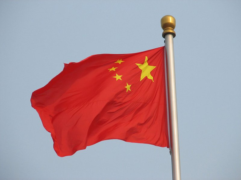Bandeira da China. Foto:Philip Jägenstedt/Flickr/Creative Commons