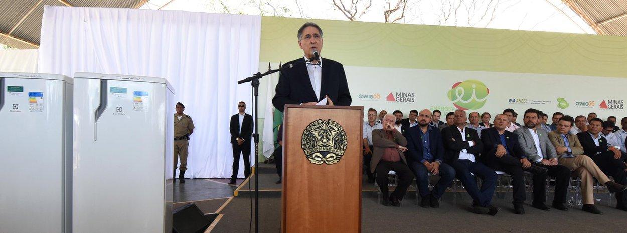 Governador Fernando Pimentel participa do programa Cemig e você. 19-09-2017- São Francisco. Foto: Manoel Marques/imprensa-Mg