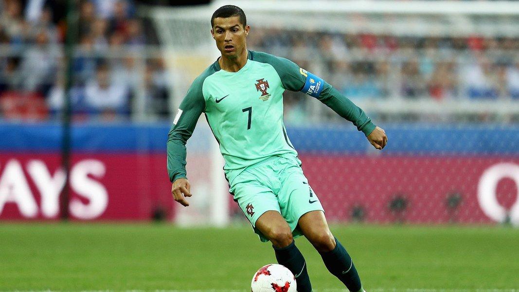 Jogador Cristiano Ronaldo, Seleção de Portugal, Copa das Confederações