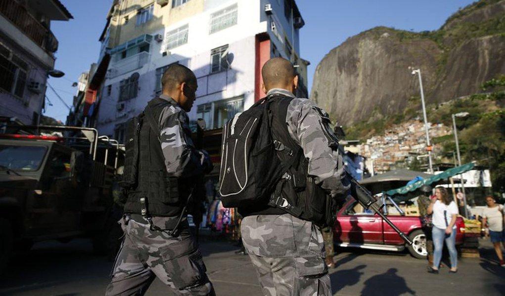 Rio de Janeiro - Opera��o das for�as seguran�a no combate aos confrontos entre traficantes na Rocinha (Fernando Fraz�o/Ag�ncia Brasil)