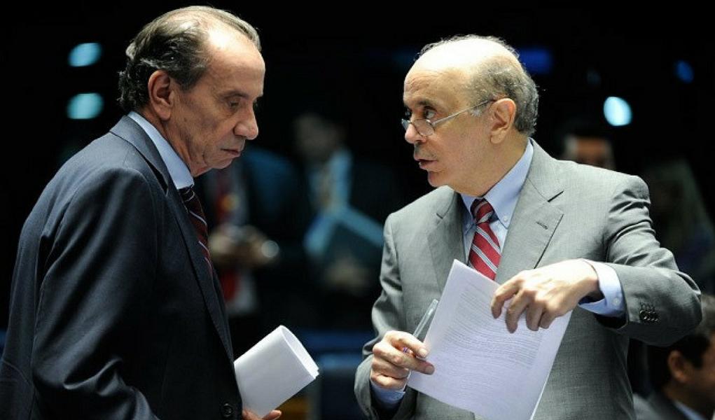 Aloysio Nunes e José Serra