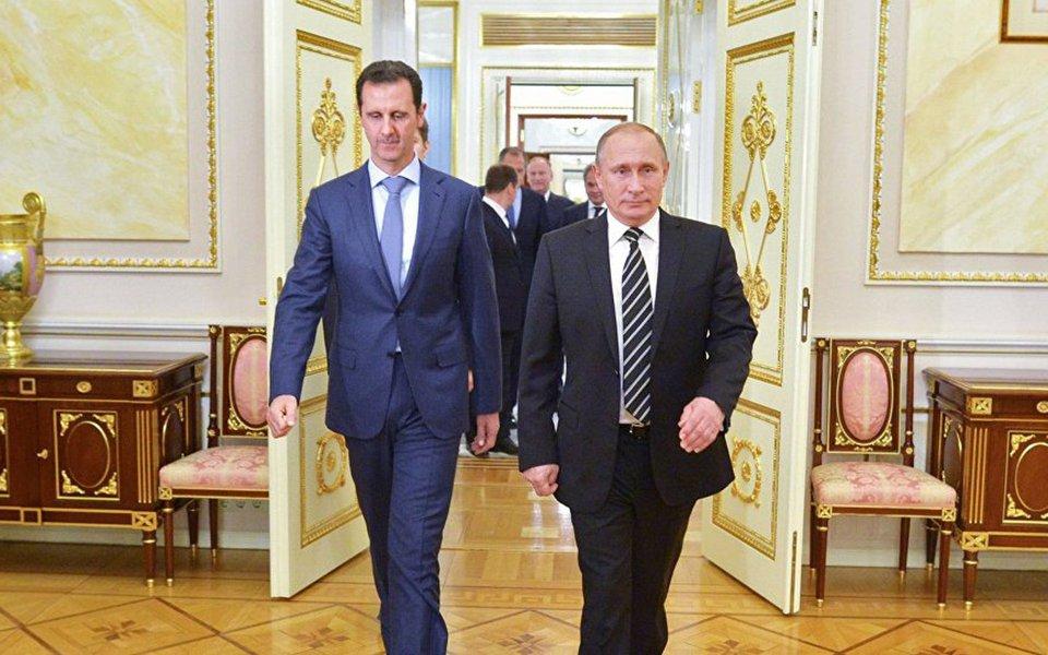 Assad, Vladimir Putin