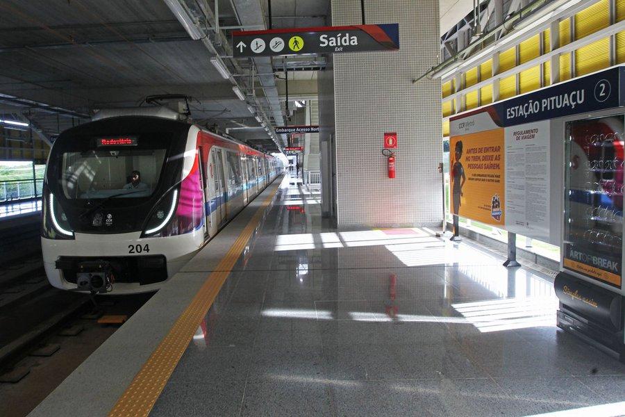 Estação de metrô de Pituaçu
