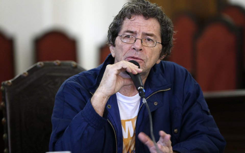 Rio de Janeiro - Ildeu de Castro Moreira, vice-presidente da Sociedade Brasileira para o Progresso da Ciência (SBPC), durante lançamento da campanha de mobilização pública: Conhecimento sem Cortes (Tânia Rêgo/Agência