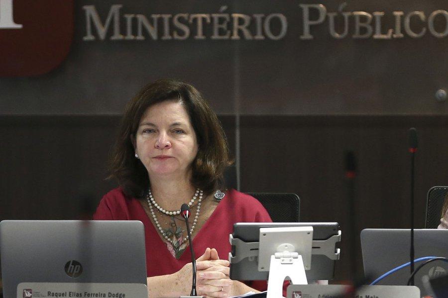 14/11/2017- Brasília - A procuradora-geral da República, Raquel Dodge, participa da sessão plenária do Conselho Nacional do Ministério Público (CNMP) Foto: José Cruz/Agência Brasil