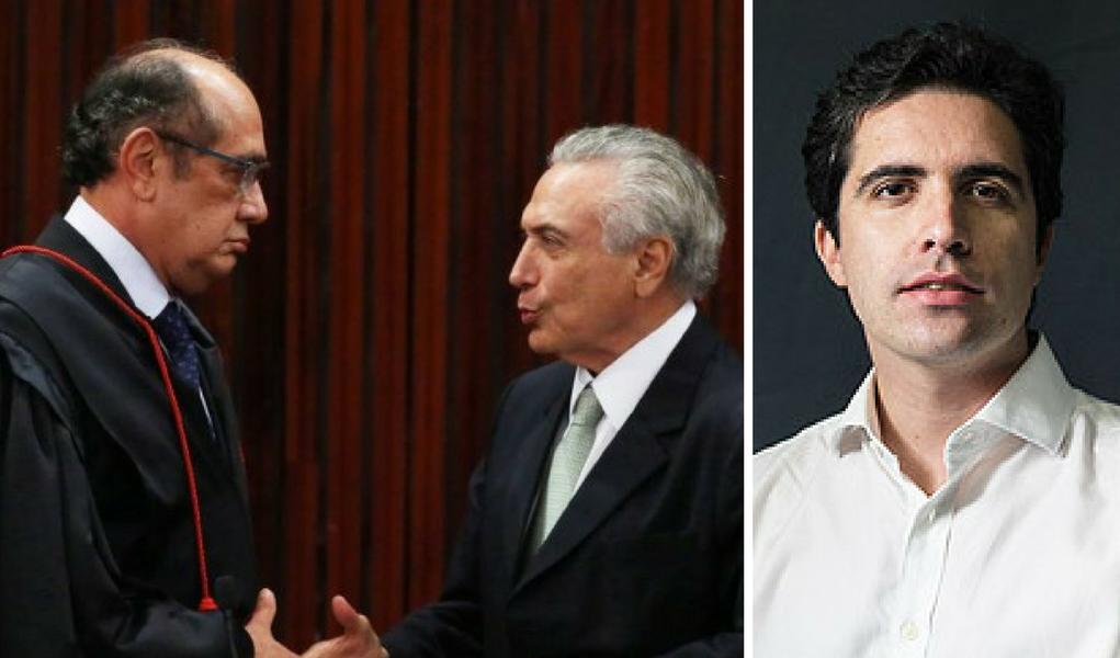 Mello Franco, Gilmar mendes, Michel Temer
