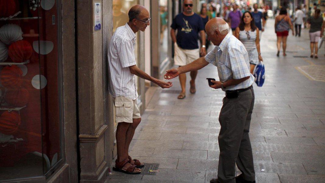 Pobreza Espanha