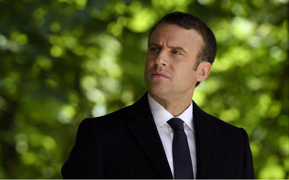 Presidente eleito da França, Emmanuel Macron 10/05/2017 REUTERS/Eric Feferberg/Pool