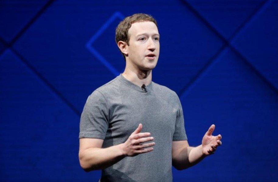Mark Zuckerberg, presidente-executivo do Facebook, durante conferência anual com desenvolvedores em San Jose, Estados Unidos 18/04/2017 REUTERS/Stephen Lam
