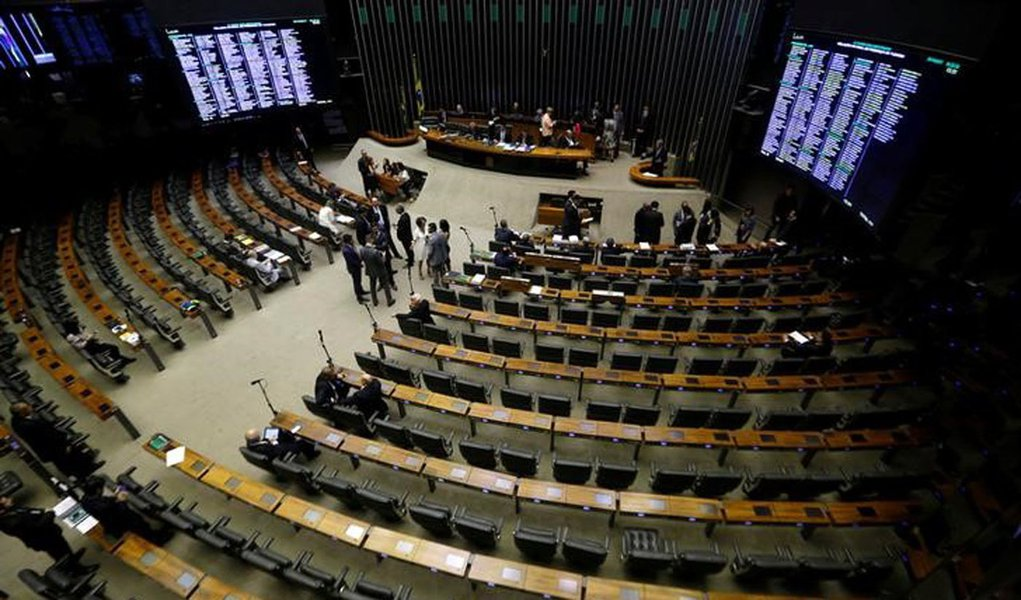 Visão geral da Câmara dos Deputados em Brasília, no Brasil 25/10/2017 REUTERS/Adriano Machado