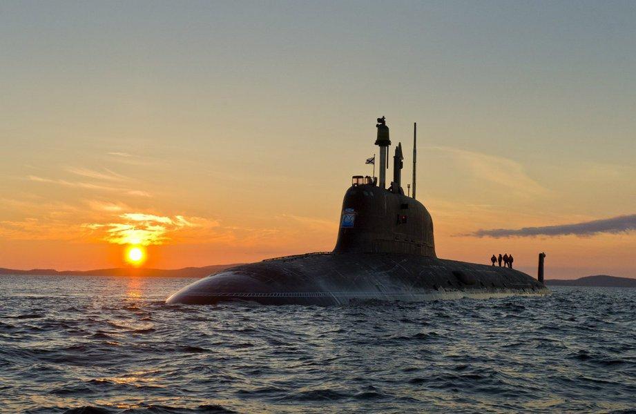 Submarino russo, frota russa, marinha russa, Rússia, submarino classe Yasen