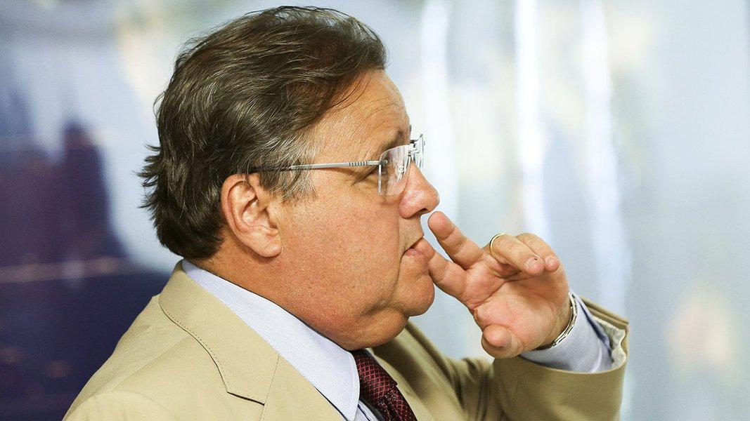 Brasília - O Ministro da Secretaria de Governo, Geddel Vieira Lima, durante reunião com líderes partidários da Câmara dos Deputados. (Marcelo Camargo/Agência Brasil)