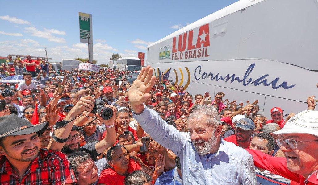 01/09/2017- Lula visita o Parque de geração de energia eólica de Marcolândia, no Piauí. Foto: Ricardo Stuckert