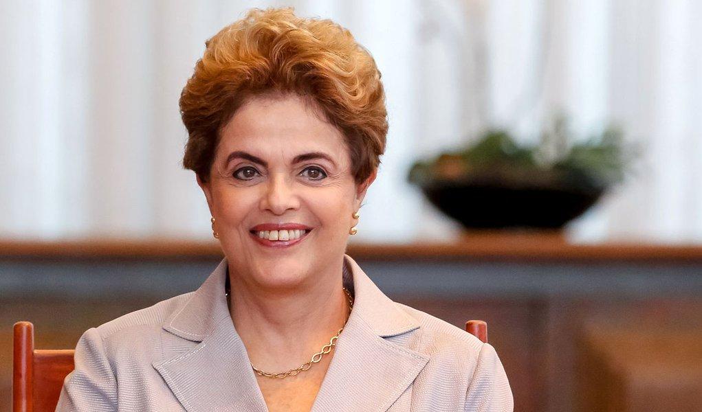 Brasília - DF, 14/06/2016. Presidenta Dilma Rousseff durante entrevista para agências de noticias internacionais. Foto: Roberto Stuckert Filho/PR