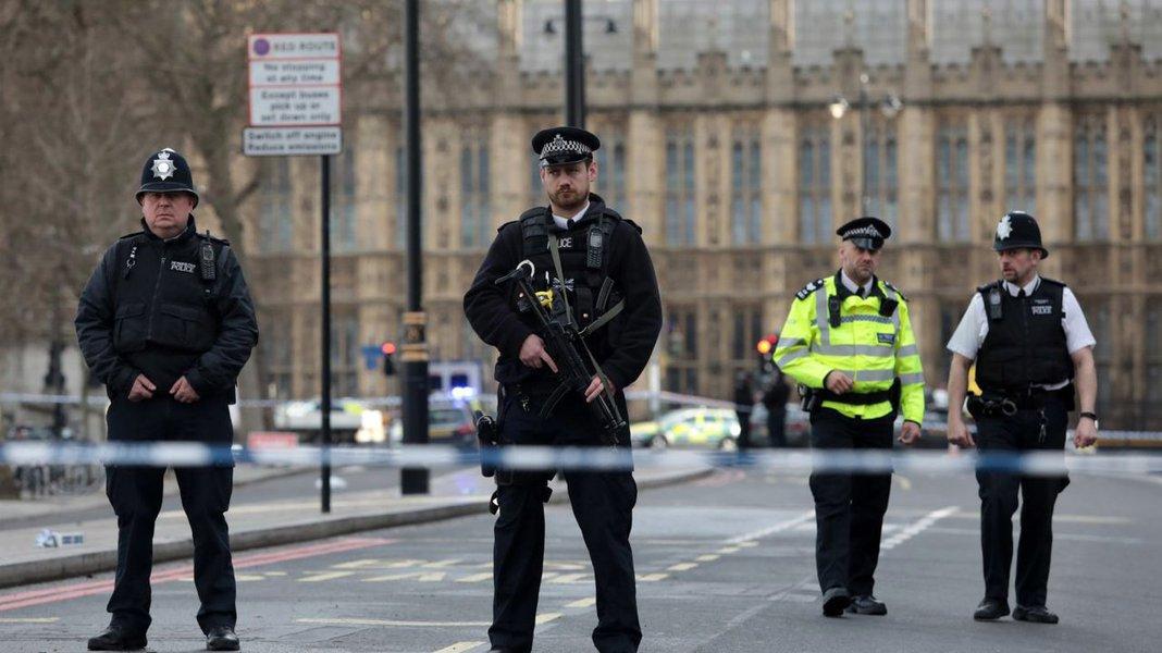 Polícia britânica, Londres, terrorismo, Inglaterra, Reino Unido