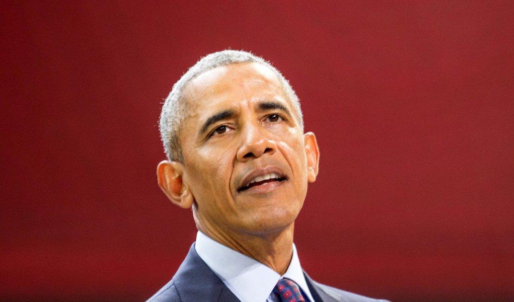 Ex-presidente dos Estados Unidos Barack Obama durante evento, em Nova York 20/09/2017 REUTERS/Elizabeth Shafiroff