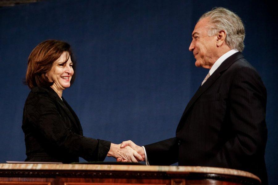 18/092017- Brasília - DF, Brasil- Cerimônia de posse da Procuradora-Geral da República, Raquel Dodge. Foto: Marcos Corrêa/PR