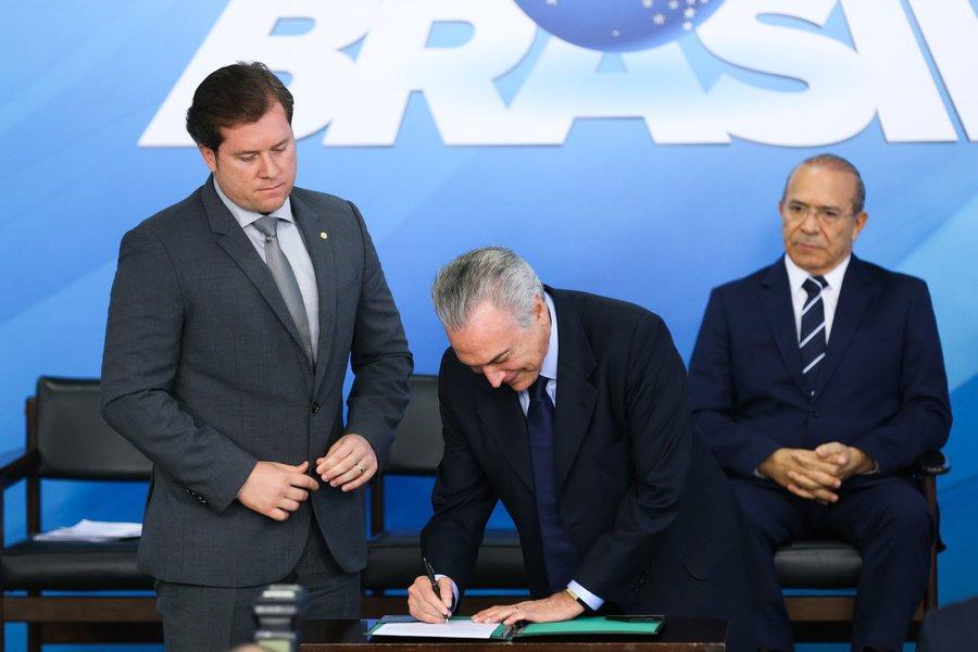 Brasília - O presidente Michel Temer escolheu o deputado federal Marx Beltrão (PMDB-AL) para comandar o Ministério do Turismo. (Antônio Cruz/ Agência Brasil)