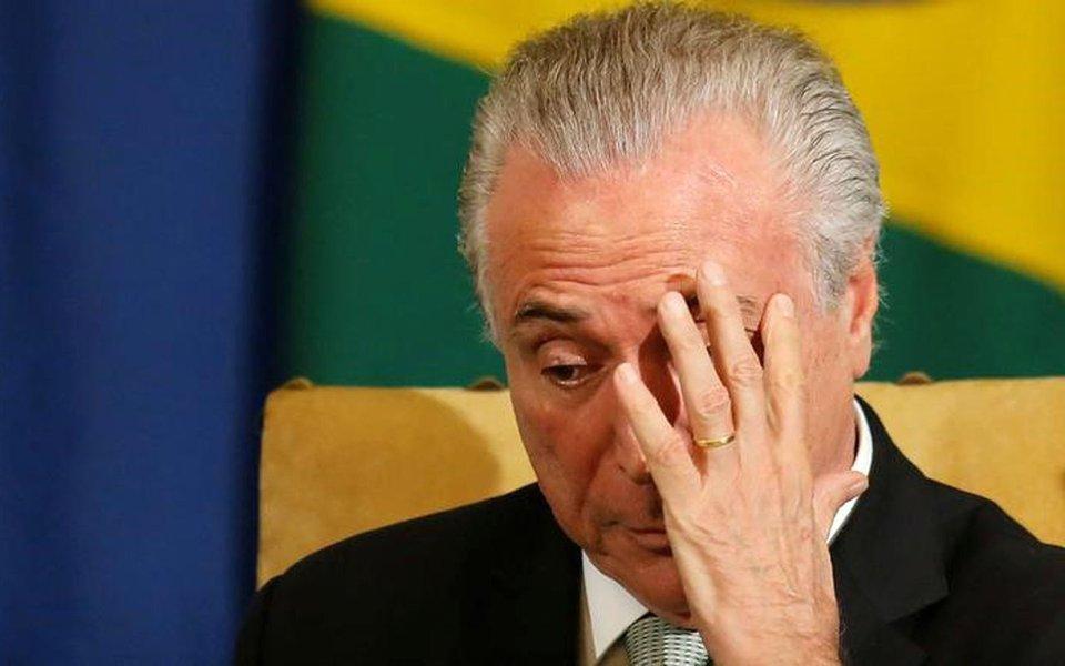 Presidente Michel Temer, em São Paulo. 03/04/2017 REUTERS/Nacho Doce