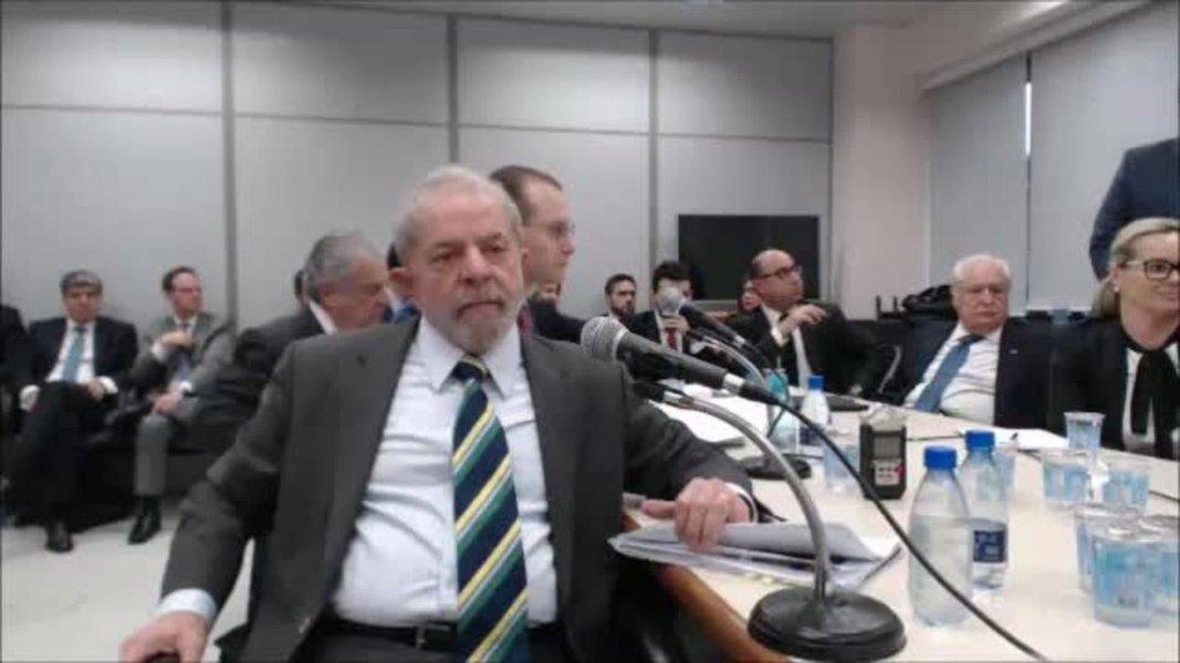 Lula depõe