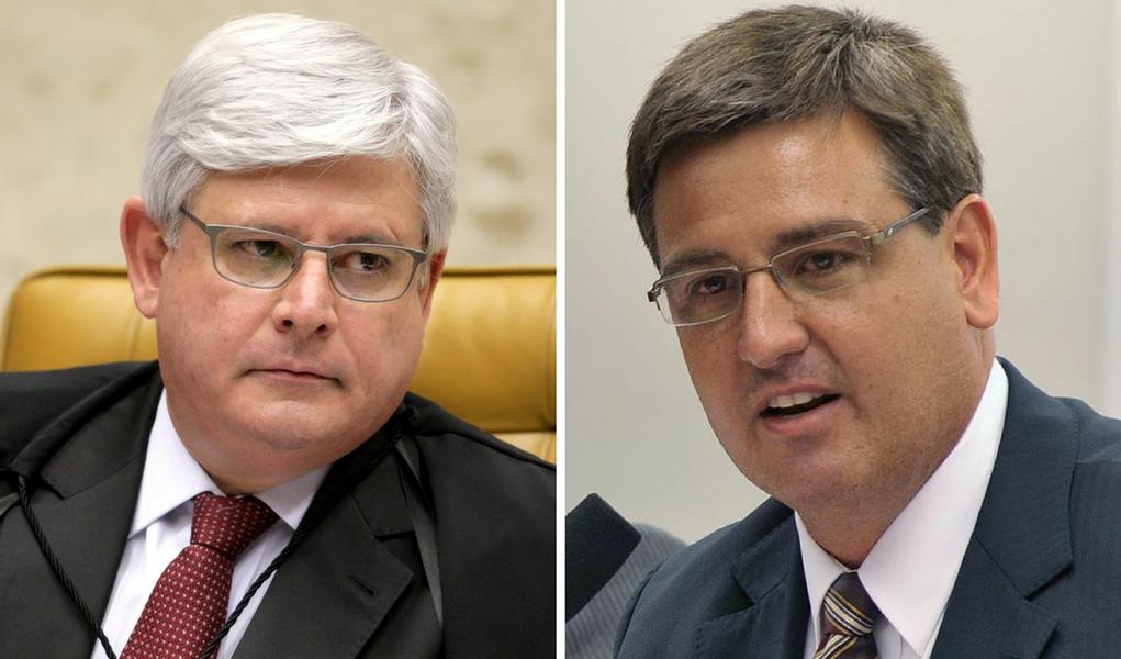 Rodrigo Janot e Fernando Segovia