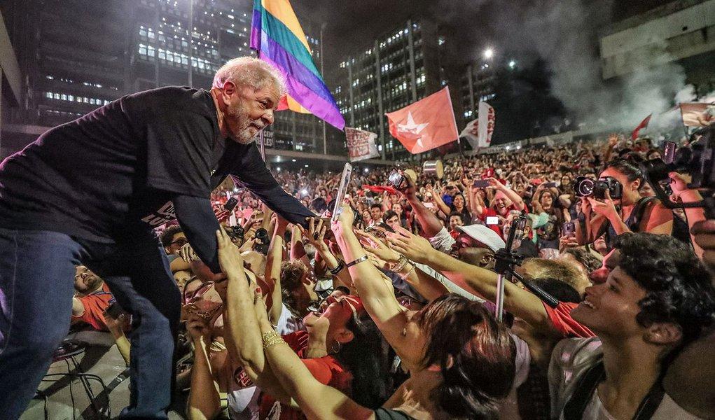 Grande ato de encerramento da caravana Lula Pelo Brasil no Espírito Santo e Rio de Janeiro na UERJ. #LulaPeloBrasil #LulaPeloRiodeJaneiro Fotos Ricardo Stuckert