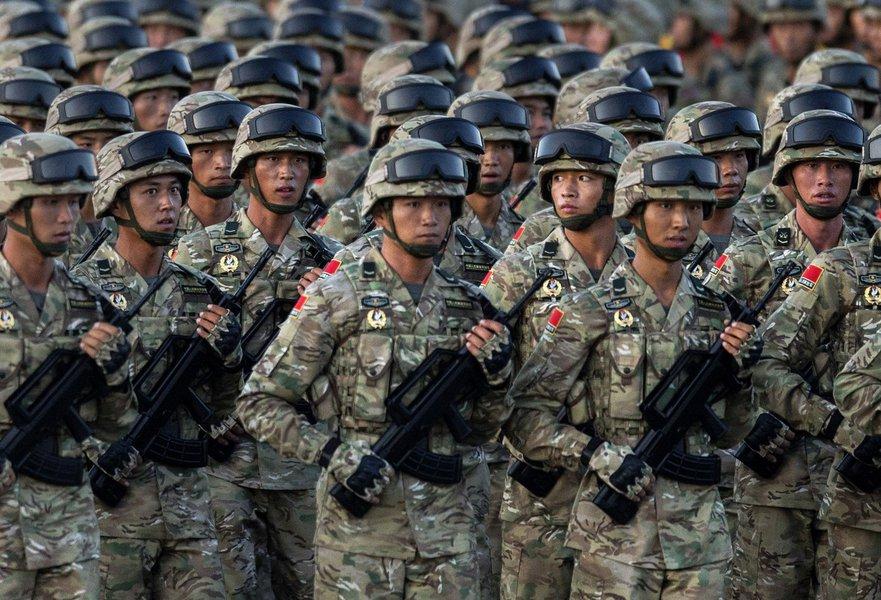Soldados do Exército Popular da China, Exército chinês