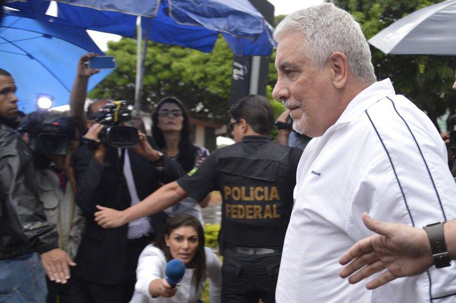 Pizzolato chega a Brasília