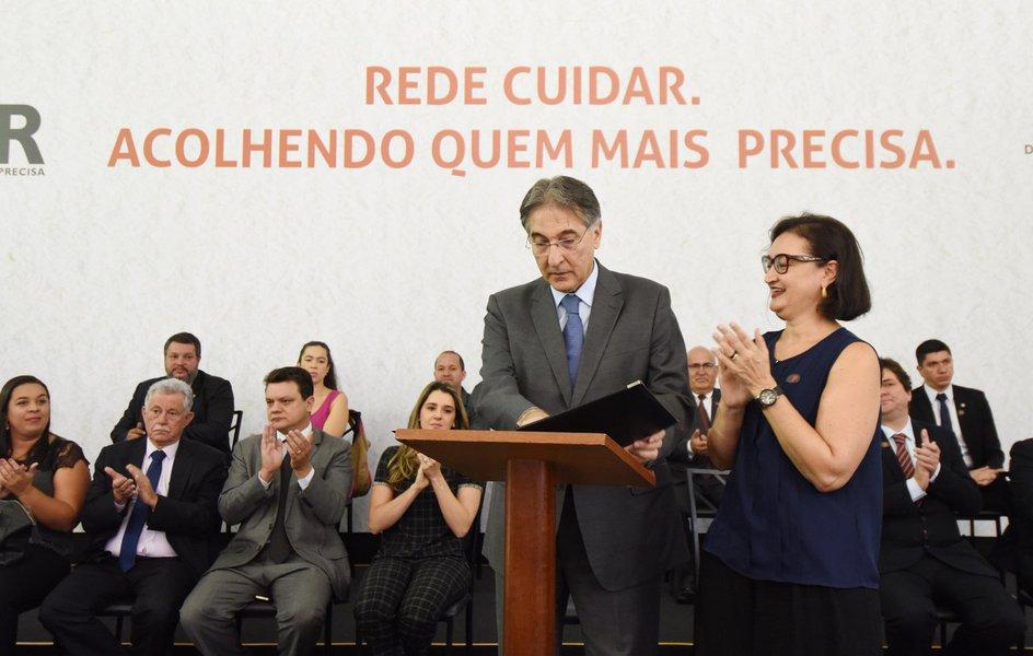 Governador Fernando Pimentel participa do programa Rede Cuidar. 05-04-2017- Palácio da Liberdade. Foto: Manoel Marques/imprensa-MG