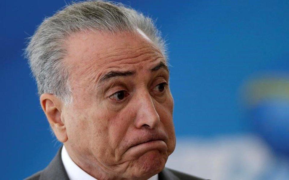 Presidente Michel Temer 12/04/2017 REUTERS/Ueslei Marcelino