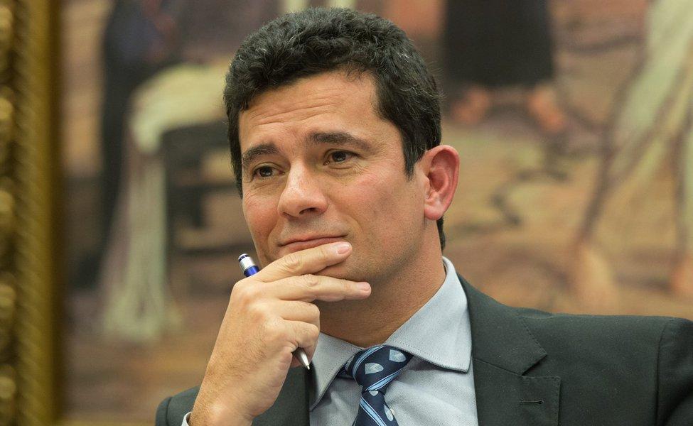 30/03/2017- Brasília- DF, BRasil- Juiz Sergio Moro durante depoimento na comissão de reforma do Código de Processo Penal Foto: Lula Marques / AGPT